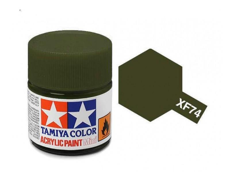 Tamiya Acrylic Mini XF-74 OD (JGSDF)  - 10ml Jar