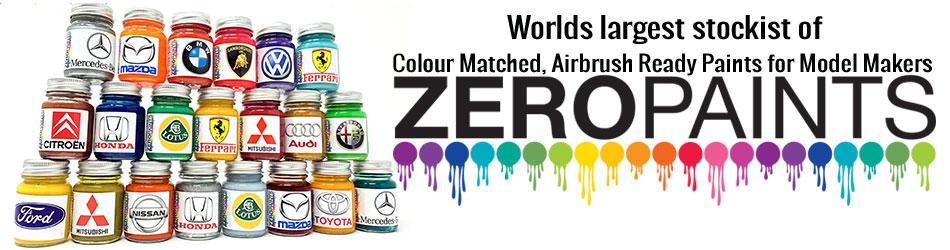 zero paints model cars and bike kits