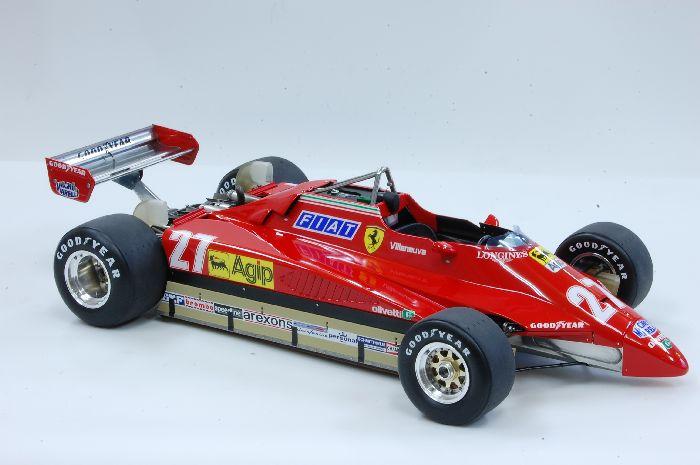 1 12 Ferrari 126c2 Ver A Brazil Gp Mfh K433 Model