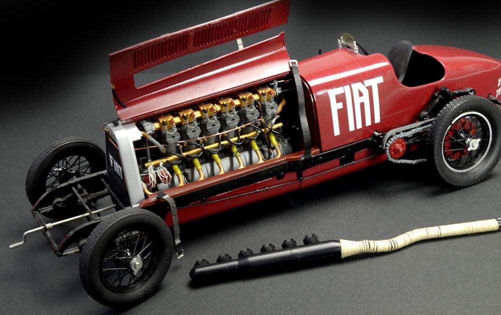 Car With Aeroplane Engine >> 1:12 Fiat Mefistofele (Italeri) | IT-4701 | Italeria