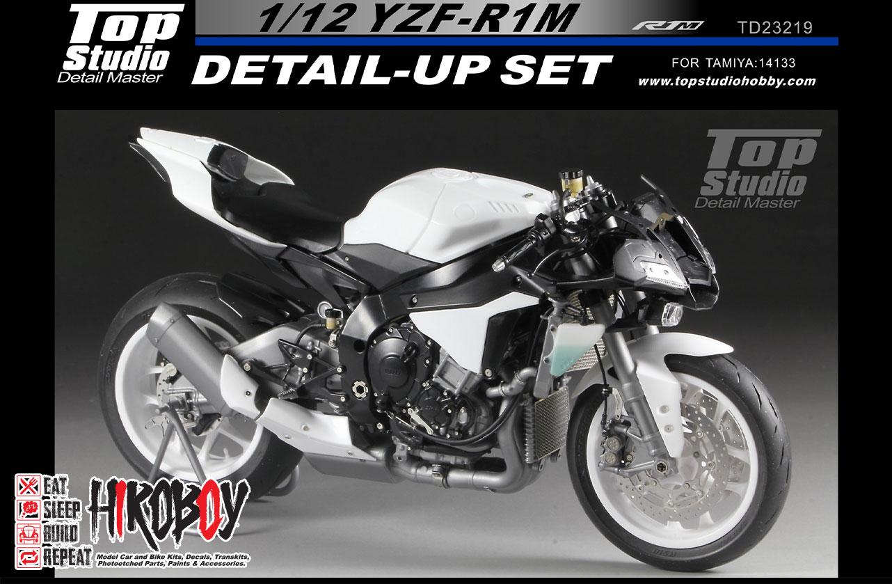 1:12 YZF-R1M Detail-up Set (Top Studio) | TD23219 | Top Studio