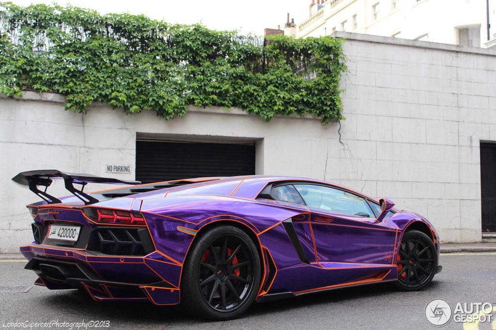 1 24 Lamborghini Aventador Lp700 4 Lb Performance Wide Body Nasser