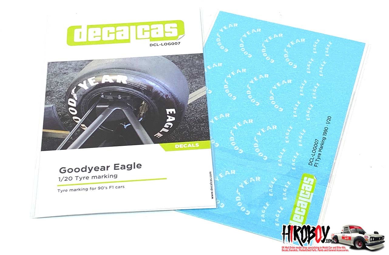 GOODYEAR Extra Large Black /& White Stripes car stickers