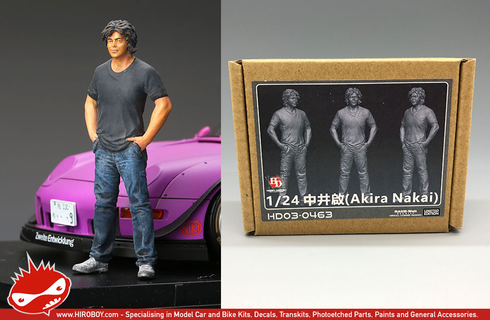 How To Figure Car Payment >> 1:24 Akira Nakai (Rauh-Welt Begriff - RWB) Resin Figure | HD03-0463 | Hobby Design