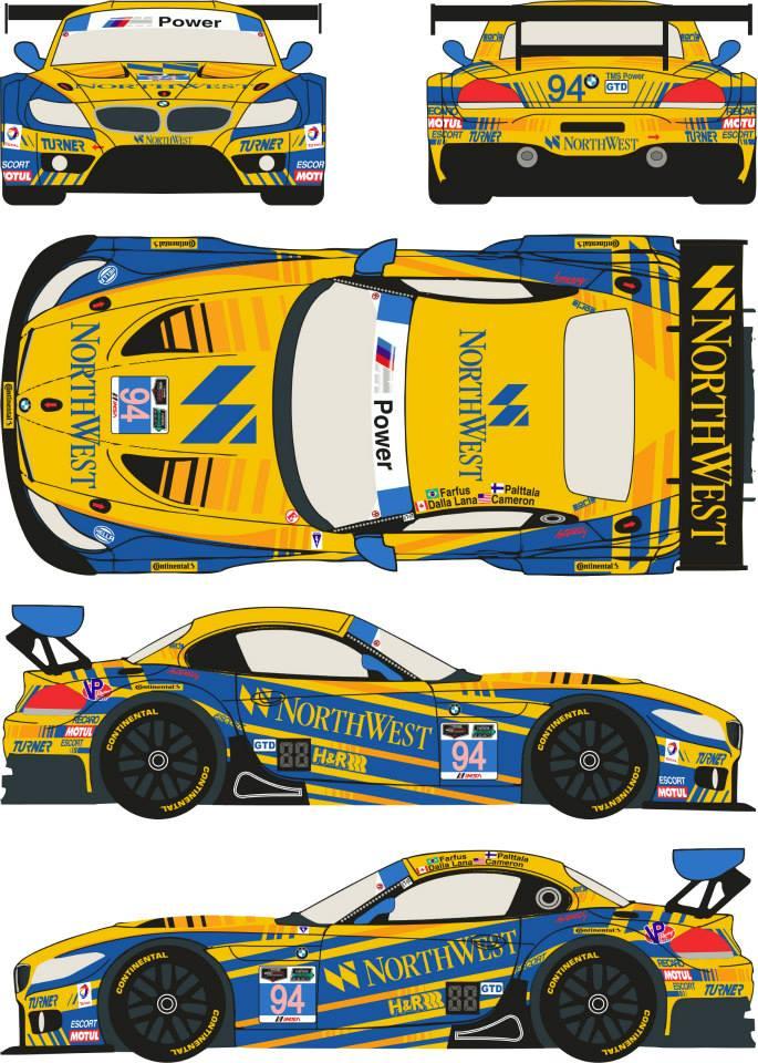 1 24 Bmw Z4 Gt3 94 Rolex 24h Of Daytona 2014 Turner Motorsport Fujimi Rde24 006 Racing