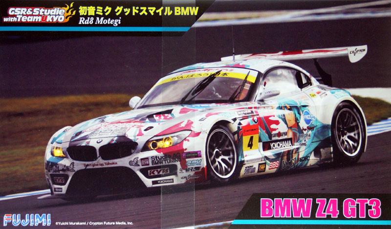 1 24 Bmw Z4 Gt3 Hatsune Miku Good Smile Bmw Rd8 Motegi