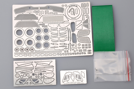 1 24 Bmw Z4 Gt3 Photoetched Detail Up Set For Fujimi