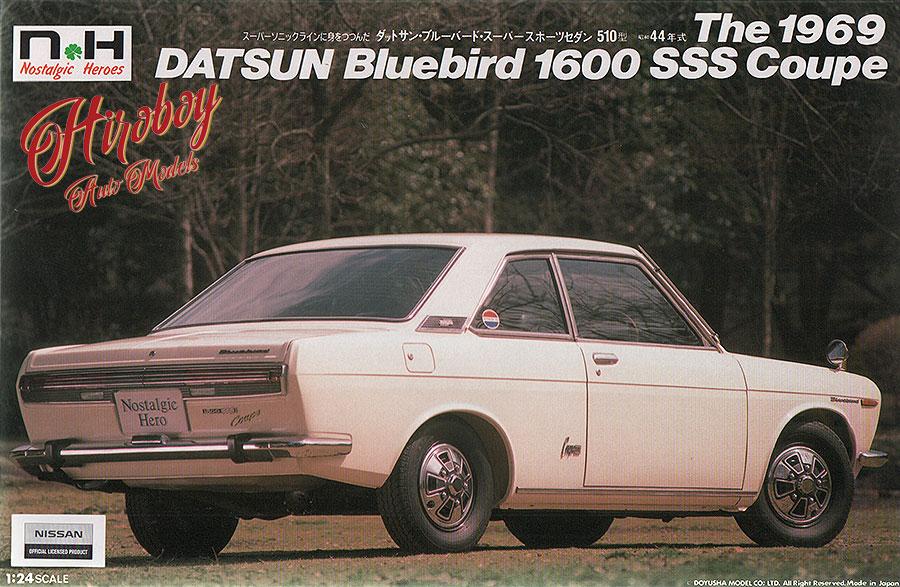 1:24 Datsun Bluebird 1600 SSS coupe (1969 type)   DOY-NH-25   Doyusha