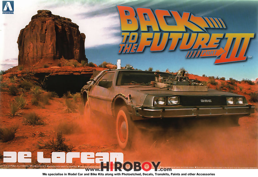 List Of Car Brands >> 1:24 Delorean DMC Back to the Future III | AOS-011874 ...