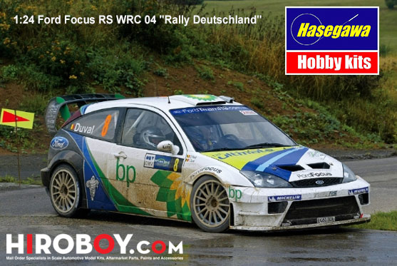& 1:24 Ford Focus RS WRC 04