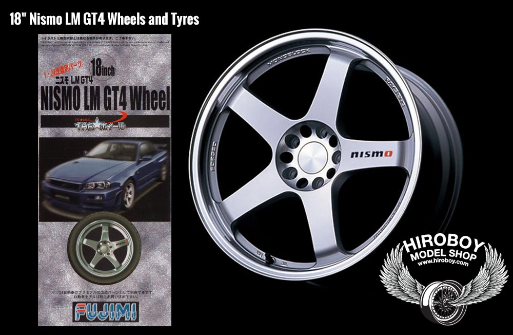 "Compare Shipping Rates >> 1:24 18"" Nismo LM GT4 Wheels and Tyres 