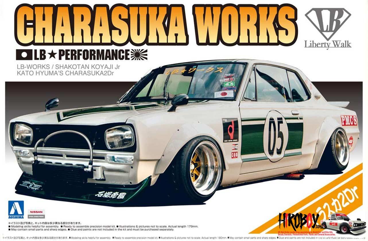 AOSHIMA 1:64 Grachan 12th KENBOX BoostGear Custom LB Hakosuka 71 Mark2 2car set