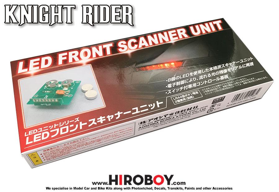 Saison III Knight Rider 2000 K.I.T.T # 007037 Aoshima 1//24 Knight Rider