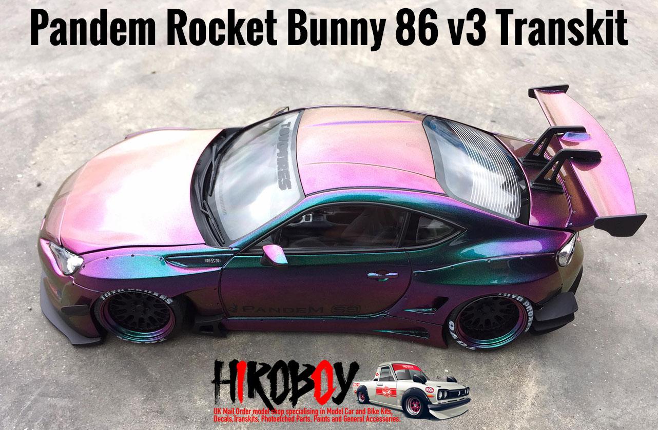 1 24 Pandem Rocket Bunny 86 V3 Transkit F81 Tk026 Eightyone Factory 81