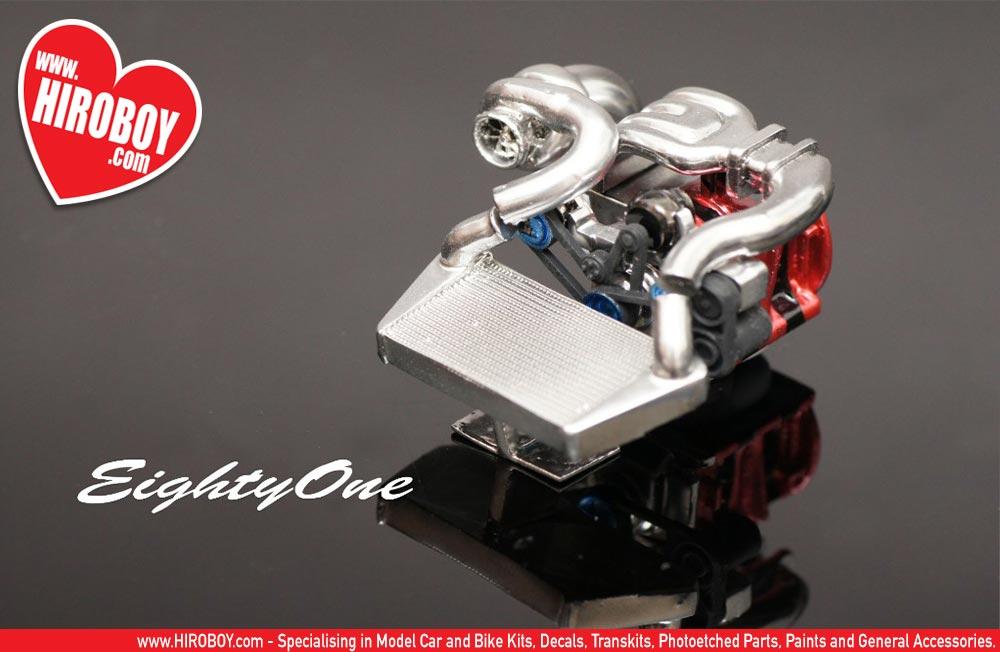 Mazda Build And Price >> 1:24 Mazda 13B Rotary Turbo Engine Kit | F81-EK008 | Eightyone (Factory 81)