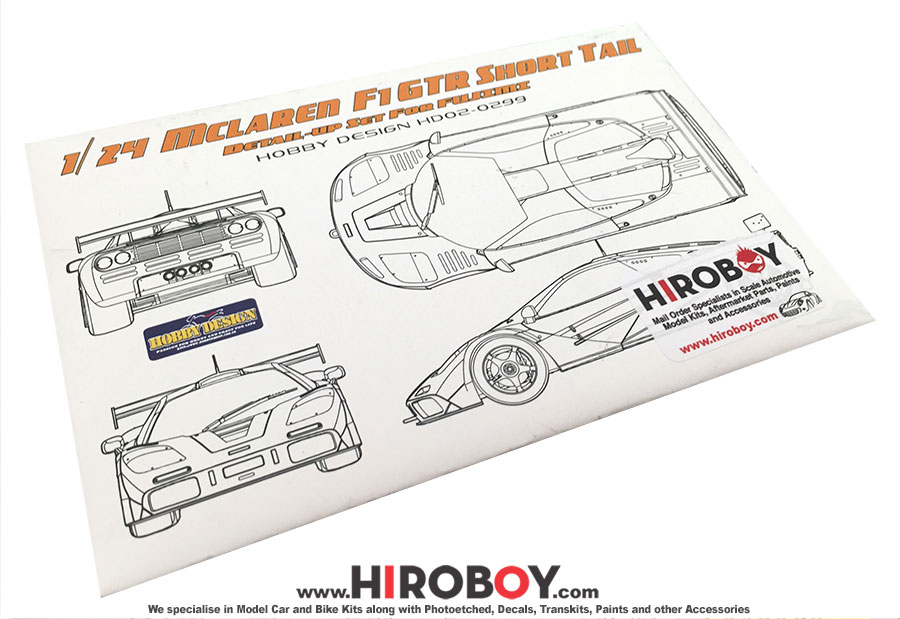 1 24 mclaren f1 gtr short tail le mans 1995 59 pe metal parts rh hiroboy com McLaren MT 7 Surround Sound McLaren Surround Sound System