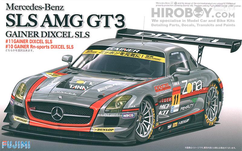 1 24 mercedes benz sls amg gt3 gainer dixcel sls fuj for Mercedes benz sls amg gt3 price