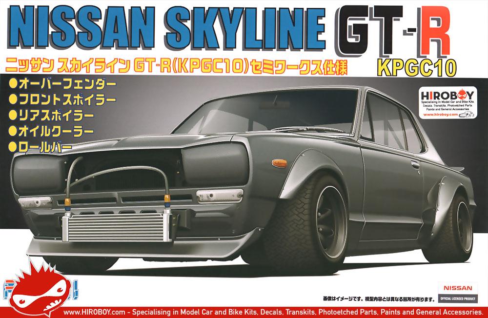 1:24 Nissan Skyline GT-R (KPGC10) Hakosuka Semi-Works ...