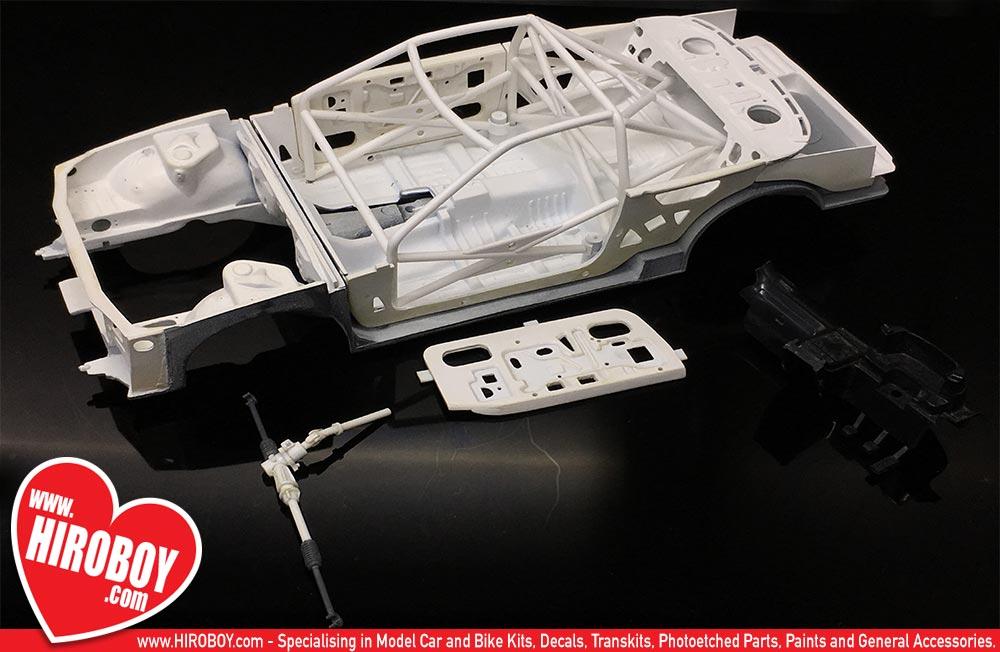 Nissan Skyline R Chassis Set on Basic Car Engine Parts