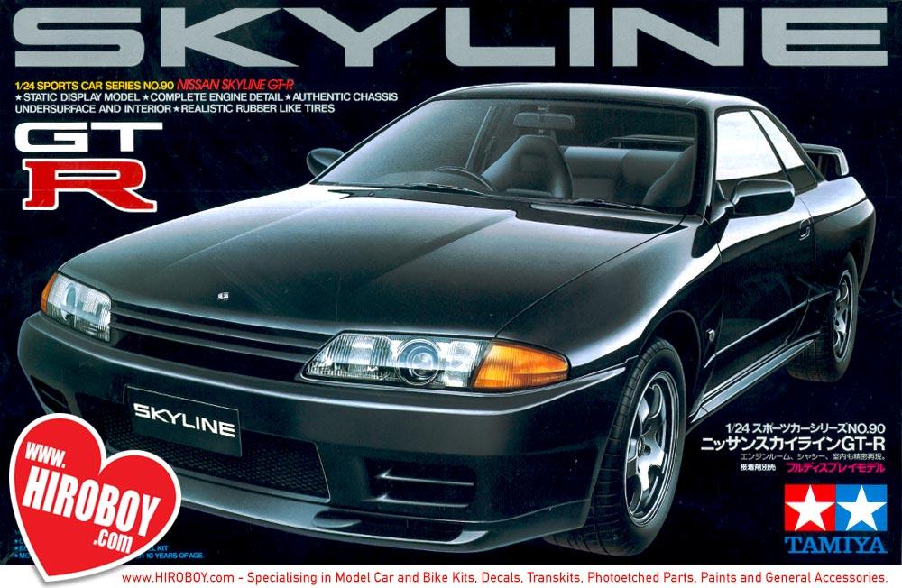 1 24 Nissan Skyline R32 GT R Model Kit TAM24090 Tamiya