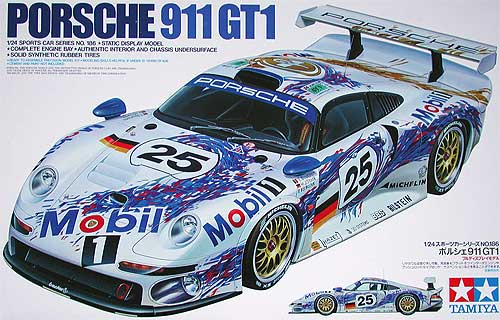 1 24 porsche 911 gt1 le mans 24186 tam24186 tamiya. Black Bedroom Furniture Sets. Home Design Ideas