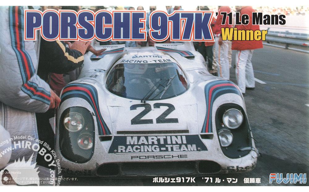 1 24 Porsche 917k 1971 Le Mans Winner  22  Martini Racing Team