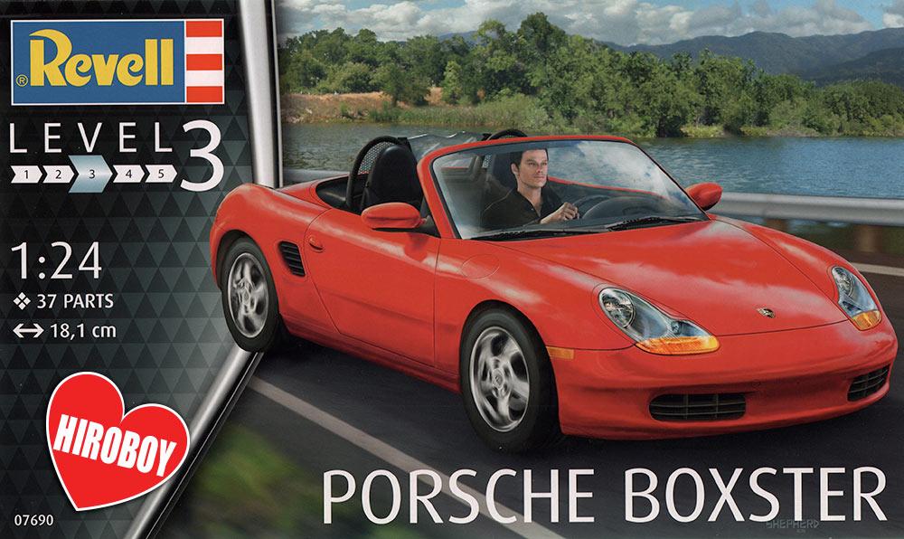 Porsche 718 Boxster >> 1:24 Porsche Boxster Model Kit | REV-07690 | Revell