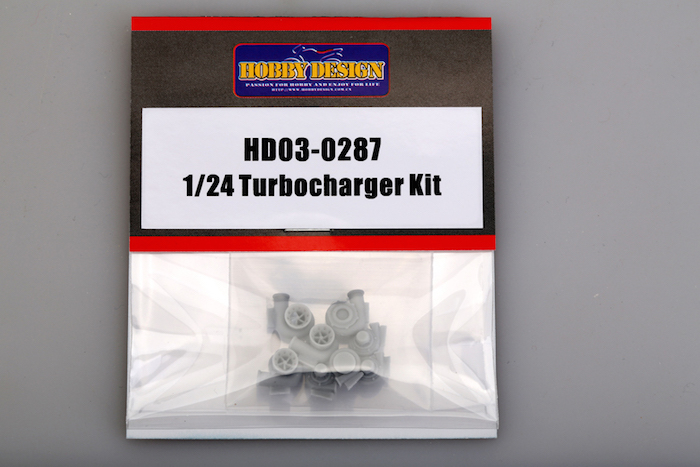 1:24 Resin Turbo Charger Kit - HD03-0287