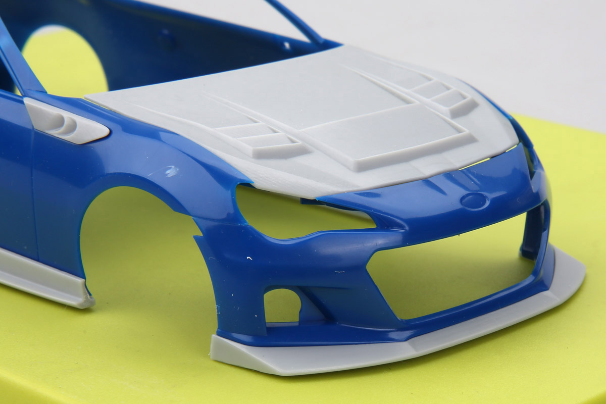1 24 S Craft Brz High Performance Body Kit For Tamiya