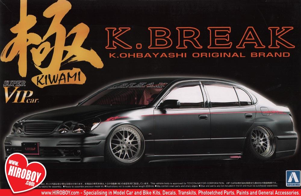 List Of Car Brands >> 1:24 Toyota Aristo JZS161 2000 K.Break Kiwami (K.Ohbayashi ...