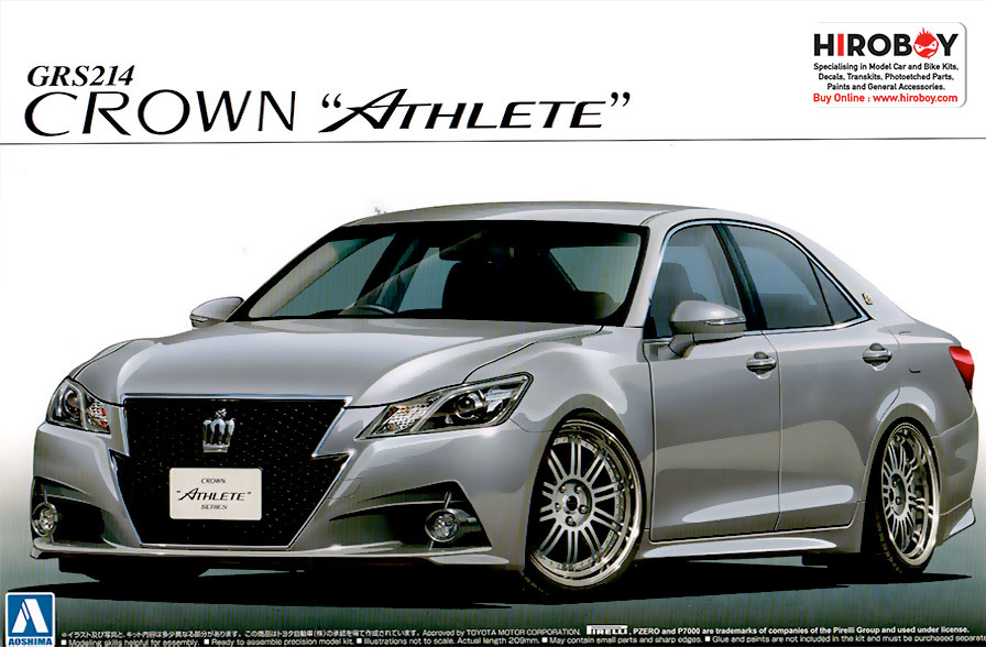 1:24 Toyota Crown Athlete GRS214 | AOS-008508 | Aoshima