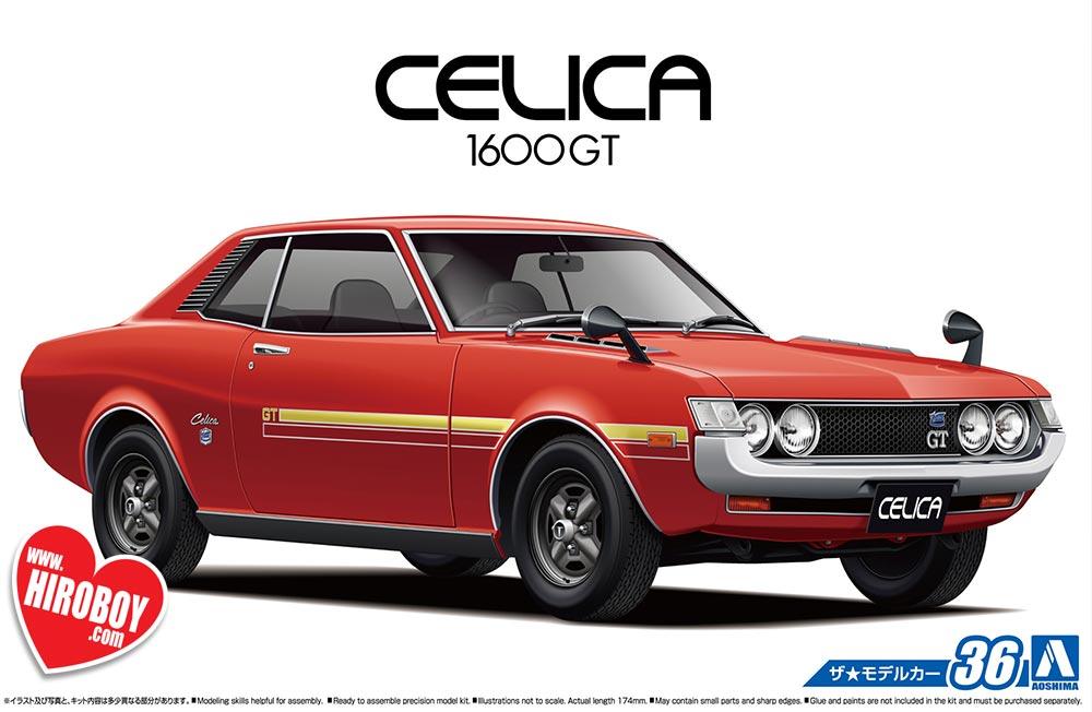 1 24 Toyota Ta22 Celica 1600gt  U0026 39 72 Model Kit