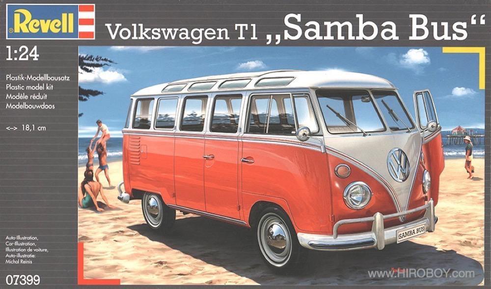1 24 Vw Volkswagen T1 Samba Bus 23 Window Rev07399