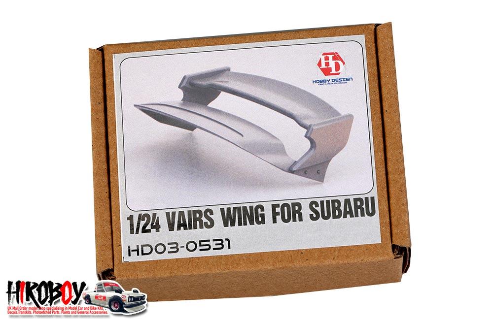 1:24 Varis Wing For Subaru Impreza WRX STI | HD03-0531 | Hobby Design