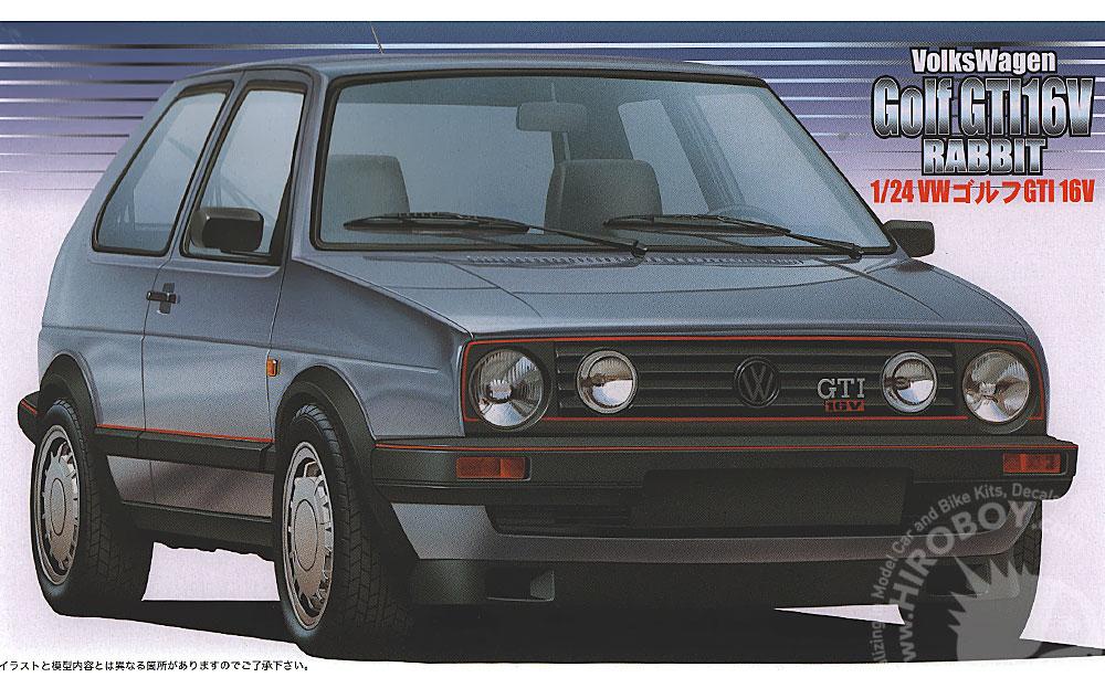 Vw European Delivery >> 1:24 Volkswagen Golf Mk2 GTi 16v | FUJ-12498 | Fujimi