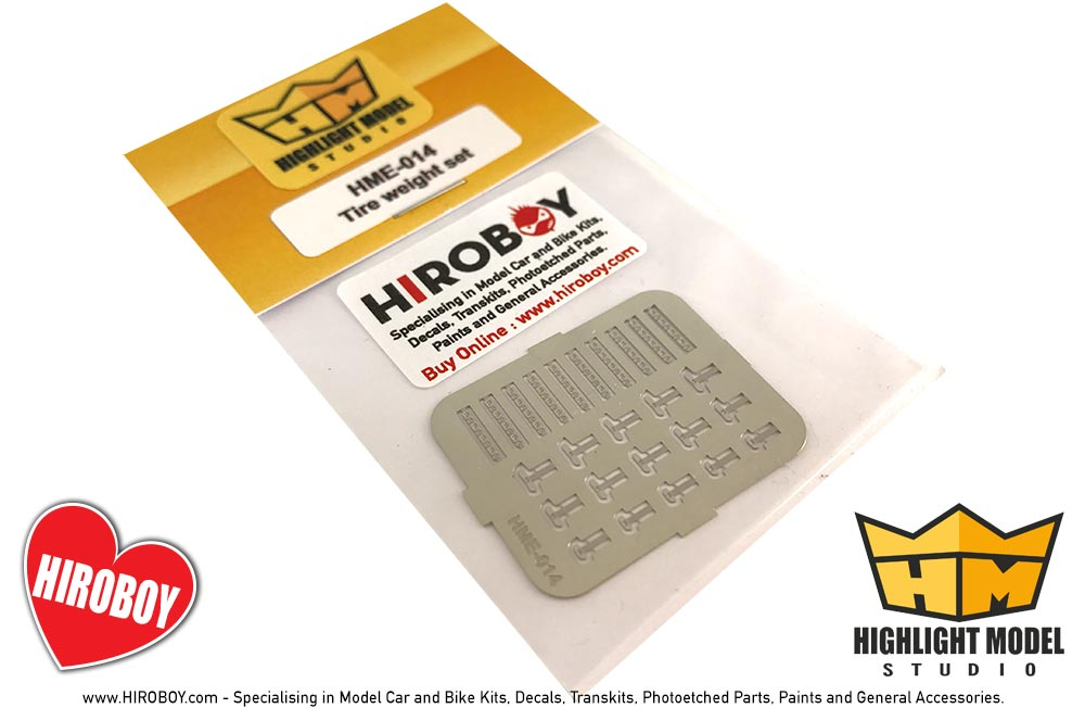 1:24 Tyre/Tire Weights (Photoetched Part) - HME-014