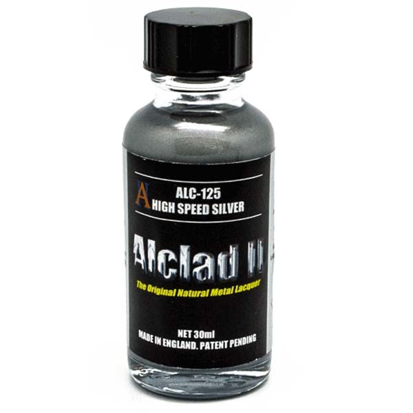 Alclad speed silver alc125 alc125 alclad ii for Chrome paint price
