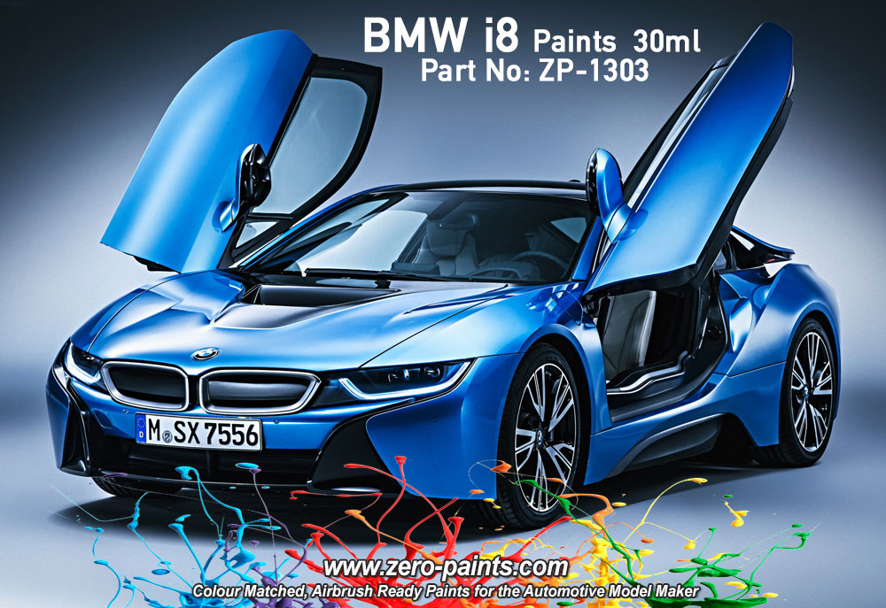 BMW I8 Paints