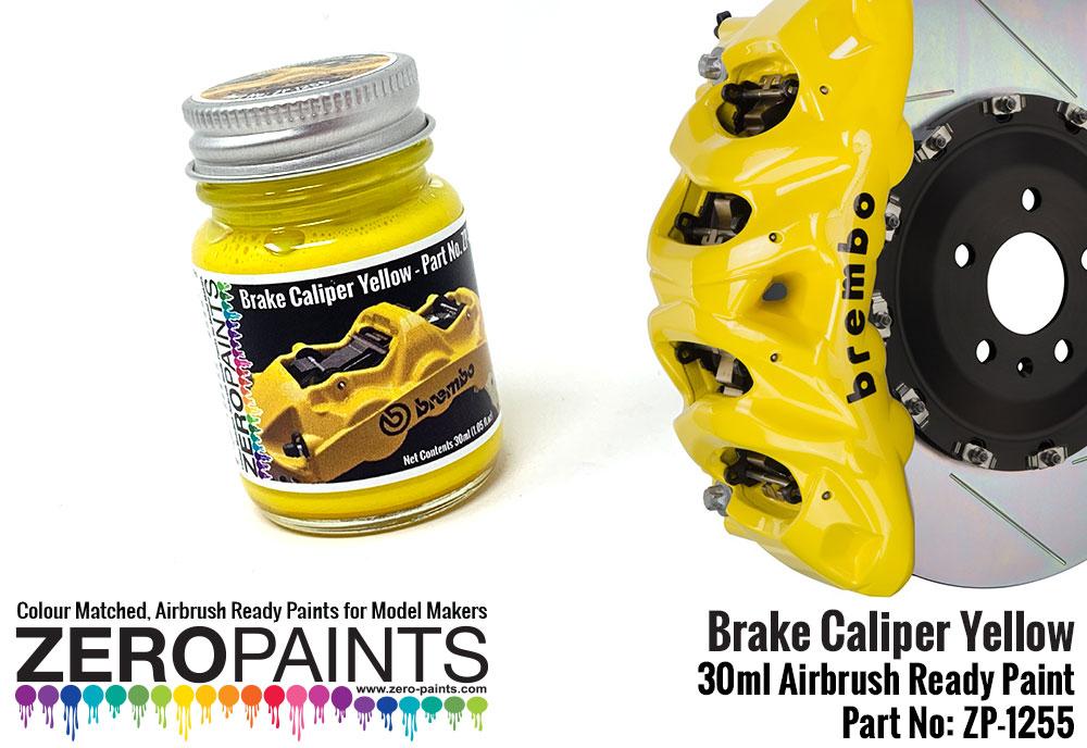 Brembo Brake Caliper Yellow Paint 30ml | ZP-1255 | Zero Paints