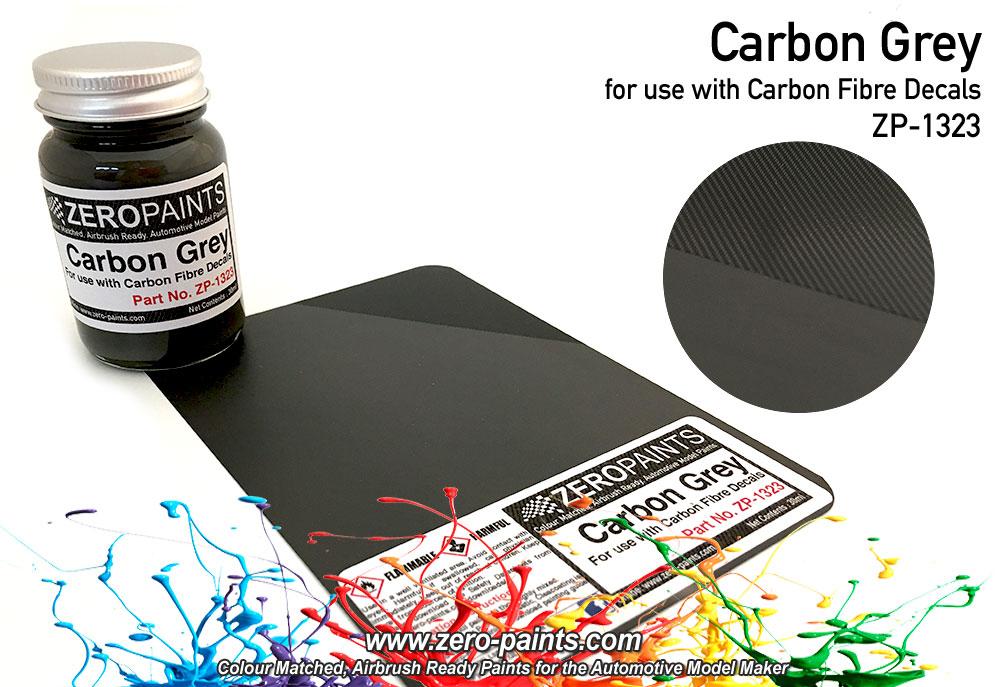 carbon grey carbon fibre grey paint 60ml zp 1323 zero paints. Black Bedroom Furniture Sets. Home Design Ideas