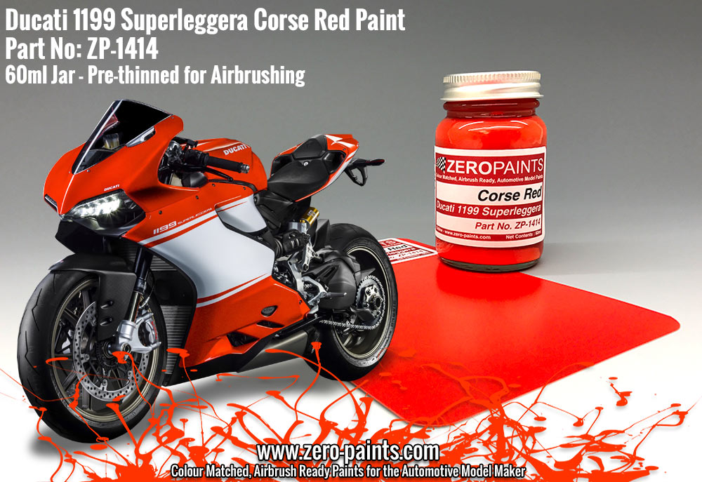 Ducati Panigale Red Paint Code