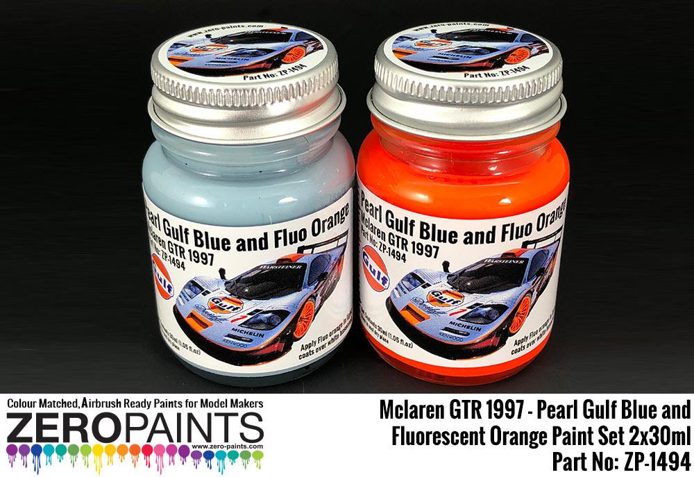 Gulf Blue Paint Formula