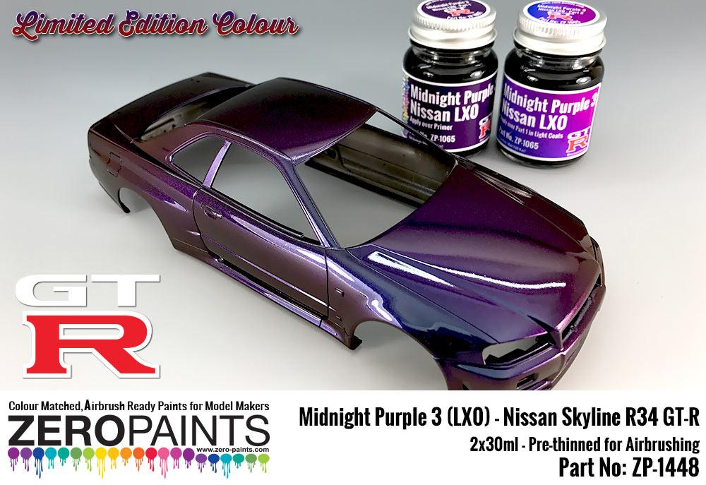 Midnight Purple 3 Lx0 Nissan Gt R R34 2x30ml Limited