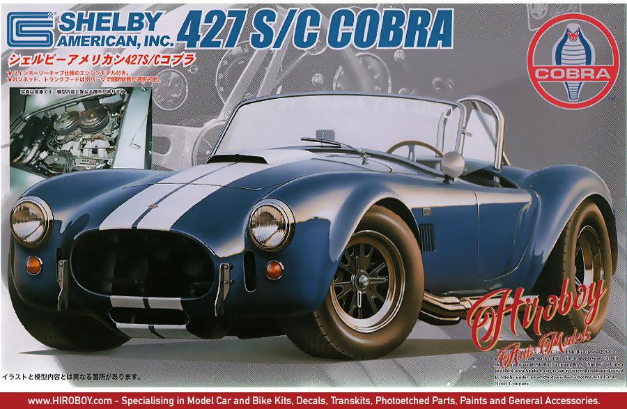 Fujimi Real Sports Car RS-5 1//24 Shelby Cobra 427SC Model Car Kit