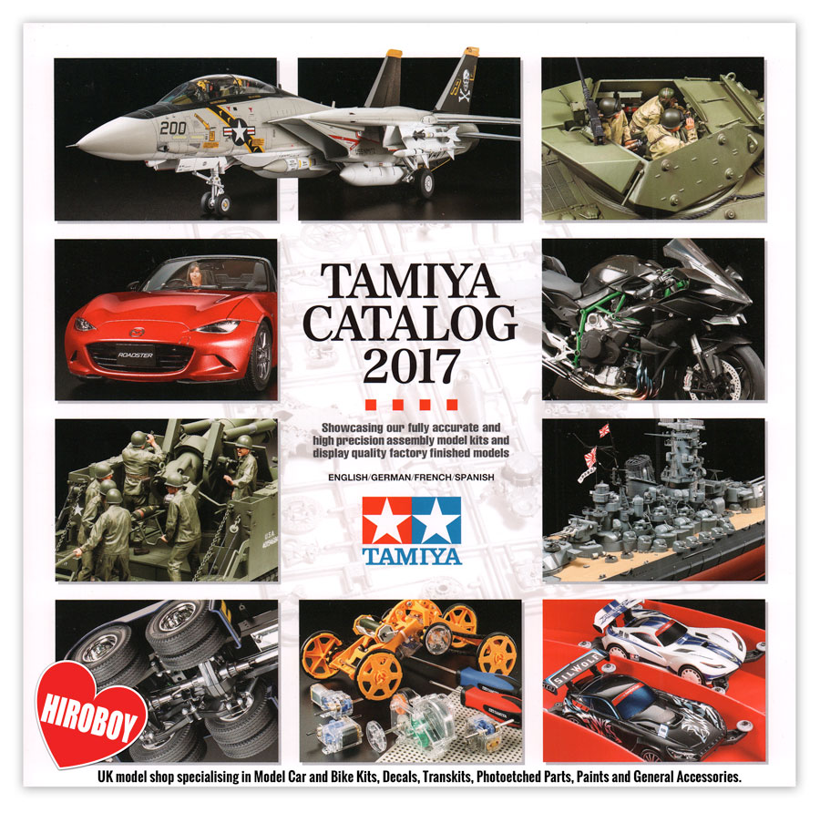 tamiya plastic model catalog 2017 tam64407 tamiya. Black Bedroom Furniture Sets. Home Design Ideas