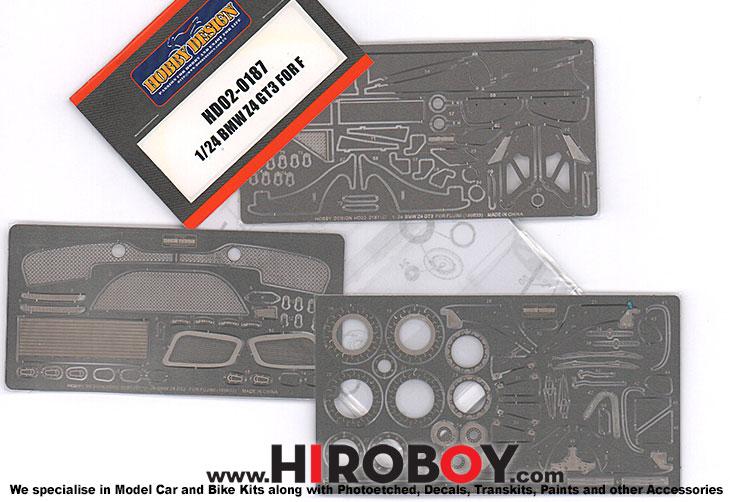 1 24 Bmw Z4 Gt3 Fujimi Photoetched Detail Up Set Hd02