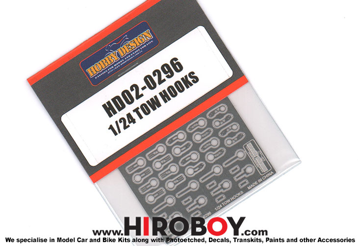 1:24 Tow Hooks/Tow Eyes  - HD02-0296
